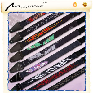 Fession Style Bass Electric Guitar Strap Leather pictures & photos