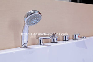 Multi-Functional Shower Room Fitting Whirlpool Massage Bathtub (TLP-665) pictures & photos