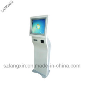 2019 New Design Interactive Kiosk with Thermal Printer