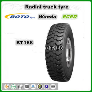 Boto Brand Bt188 with DOT ECE Gcc Certification Drive Axle New TBR (12.00R20) Truck Tirea