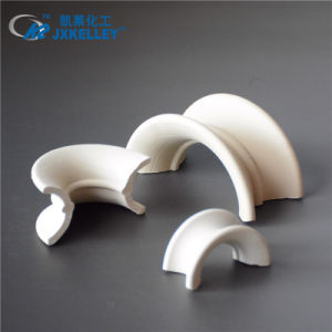 China Ceramic Super Intalox Saddle Random Tower Packing Acid Heat Resistance China Random Packing Ceramic Random Packing