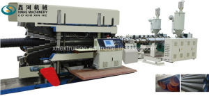 PE PP PVC Double Wall Corrugated Pipe Extrusion Line/ 225-800 mm Production Line/Plastic Extruder