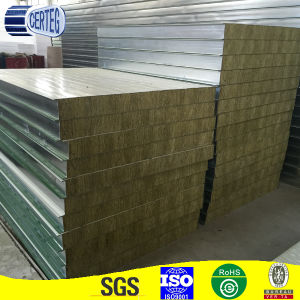 High quality PU-Rockwool Sandwich Panel pictures & photos
