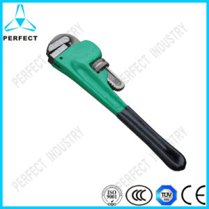 Rigid Type Chromium Molybdenum Steel Forged Heavy Duty Pipe Wrench pictures & photos