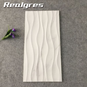 Foshan Artificial White Wave Ceramic Wall Tiles Decorative Tile Factory