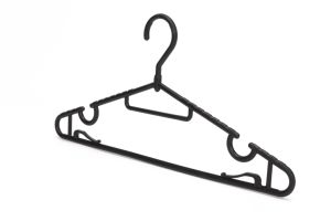 Wal-Mart Plastic Hanger Clothes Hanger From Factory pictures & photos