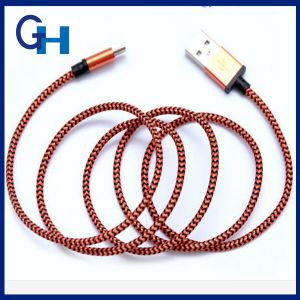2016 High Quality Stainless Steel Mfi Certificate 1m Data Cable Works for ISO 10.0