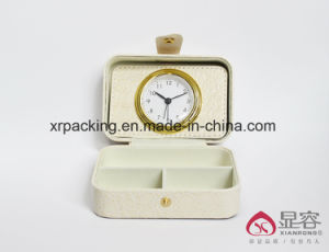 PU Leather Box with Clock