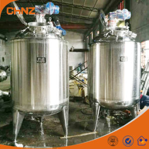 Electric Heated Chemical Mixers / Stainless Steel Mixing Tank with Agitator