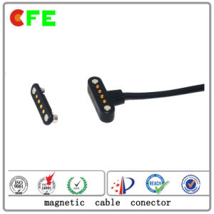 Waterproof 4pin Magnetic Cable Connector with USB pictures & photos