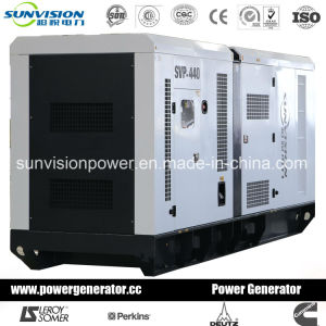 700kVA Generator Set with Soundproof Enclosure pictures & photos