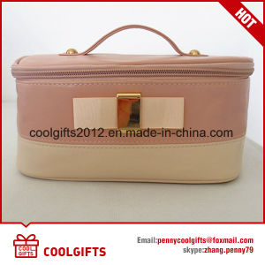 Ladies New Arrival PU Pvctravel Waterproof Cosmetic Makeup Bag pictures & photos