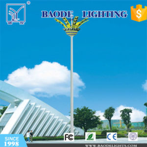 30m Polygonal Q345 Steet High-Mast Lights pictures & photos