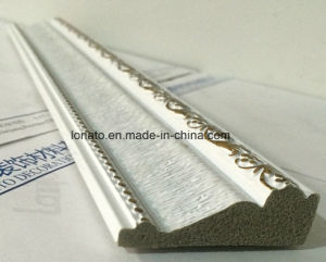 High Density Good Quality PS Foam Moulding with Hot Foil Stamping pictures & photos