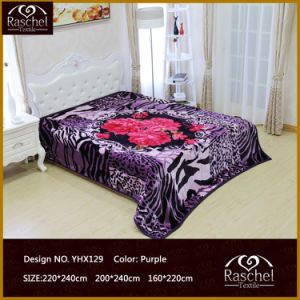 100% Polyester Korean Raschel Super Soft Quality Mink Blanket