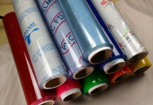 PVC Film in Small Roll by Calender pictures & photos