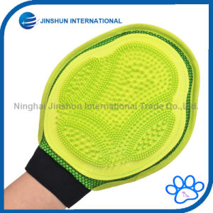 Pet Grooming Gloves, Massage Mitt Hair Removers Fur Collecting Shedding Tools for Dog & Cat