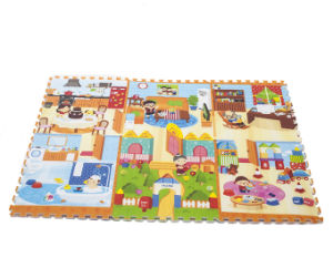 Baby Play Mat Stitching Style Lock Safety Material Practice Crawling for Baby 0860d