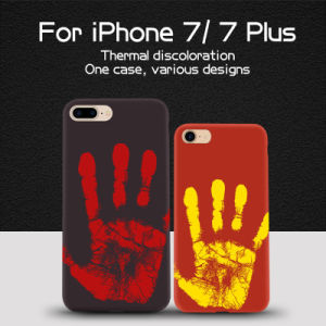 New Fashion! Thermal Discoloration Soft Phone Case for iPhone 7