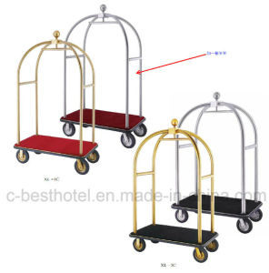 Grand Hotel Bellman Cart Luggage Trolley pictures & photos