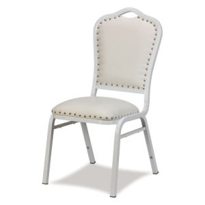 Stacking Iron Steel Wedding Banquet Hotel Chair pictures & photos