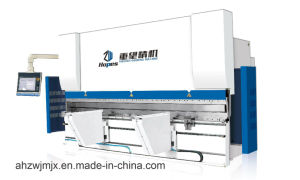We67k 125t/3200 Series Electro-Hydraulic Synchronous CNC Press Brake