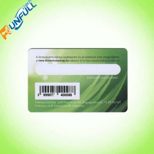 Top Level Innovative PVC Card with Cr80 Barcode pictures & photos