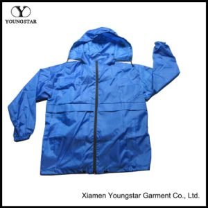 Wholesale XXL Blue Cycling Mens Windbreaker Jacket with Hood pictures & photos