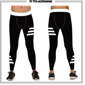 Compression Gym Sports Pants Running Leggings Fitness Wear for Men pictures & photos