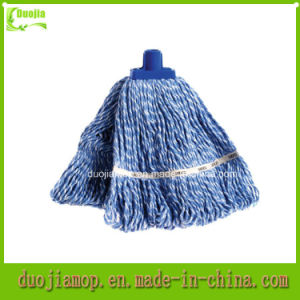 Premium Blue Yarn Mop Head Wtih Cut End Mop pictures & photos