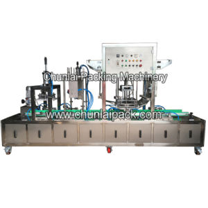 Automatic Plastic Bucket Sealing Lid Closing Machine pictures & photos