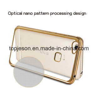 Flexible High Clear Electroplated Phone Case for Vivo X6