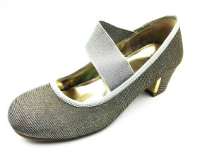 Latest Design Girl′s Ballerina Shoes