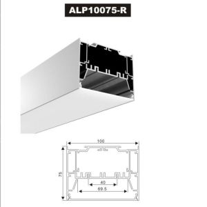 Alp10075-R LED Profile Waterproof Extrusion for LED Strip Light pictures & photos