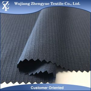 100% Polyester Double Line Ripstop Dobby Stretch Fabric for Sportswear Gatment pictures & photos