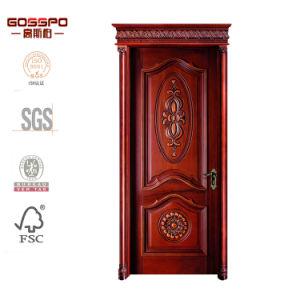 China Latest Design American Front Door Wood Interior Door (GSP2-076 ...