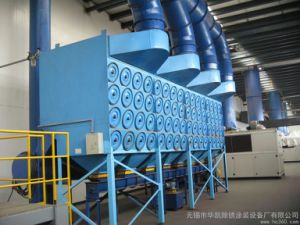 Aluminum Power Spreading Line Dust Collection Cartridge Dust Collector