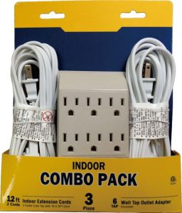 Composed Packing for USA Power Strip, Extension Cord, Wall Tap, Night Light etc pictures & photos