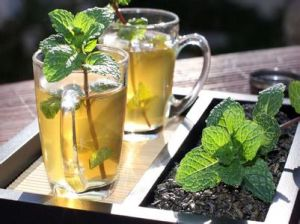 Dehydrated Peppermint Tea