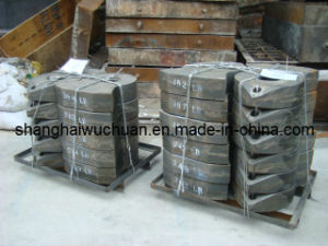 High Manganese Parts Hammer for Metal Crusher pictures & photos