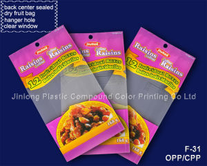Back Center Sealed Dry Fruit Bags pictures & photos
