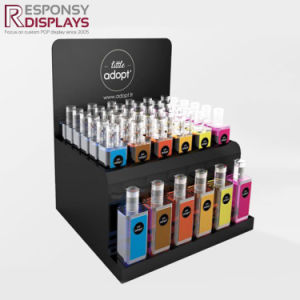 Simple Acrylic Logo Printed Shopping Center Counter Display Cabinet For  Perfume