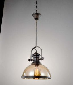 New Strong Glass Big Edison Pendant Lighting Lamp