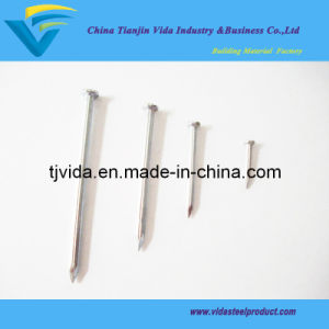 "Galvanized Steel Concrete Nails with Groove (1/2""-4"")"