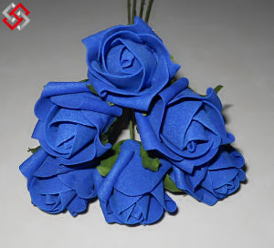 China artificial silk light blue rose head flower bulk for wedding artificial silk light blue rose head flower bulk for wedding artificial flower mightylinksfo