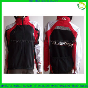 Custom Sublimation Windproof and Breathable Cycling Jacket pictures & photos
