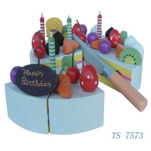 Wooden Toys - Wooden Cake (TS 7573) pictures & photos