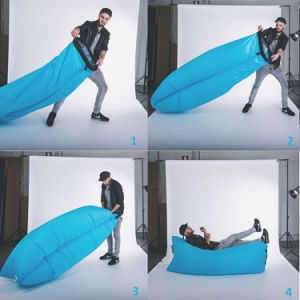 OEM Factory Fast Inflatable Air Lounger Sleeping Camping Lazy Bag