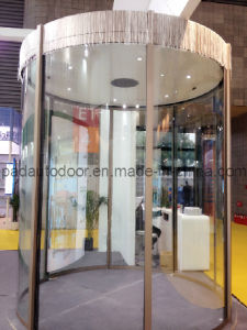 Automatic Circular Arc Glass Door System pictures & photos