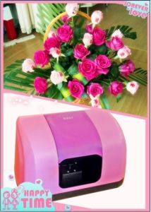 Eget Flower Printer Sp-F06b2 Can Print on 3 Flowers, with CE, FCC